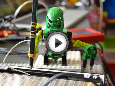 Un groupe de musique composé de LEGO Bionicle contrôlé par un iPad | Paper Rock | Scoop.it