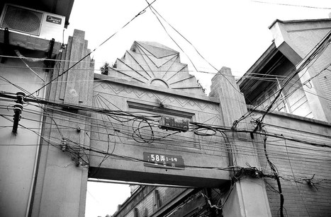 Art Deco influence in Shanghai's shikumen | Shanghai Street Stories | Vintage and Retro Style | Scoop.it