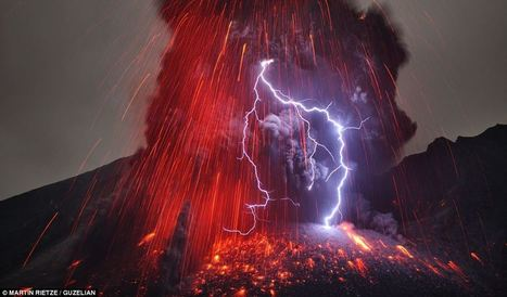 A lightning volcano... Mother Nature at her most awesome by Martin Rietze | What's new in Visual Communication? | Scoop.it