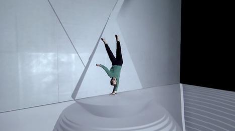Levitation: Performance VideoMapping | Multimedium | Scoop.it