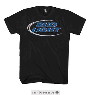 Men - Budlight Distress | Buy sunday funday tee vintage movie t- shirts | Scoop.it