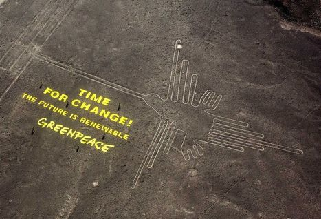Mystery Surrounds Delicate Nasca Lines Threatened by Greenpeace Stunt | some anthropology + found in translation | Scoop.it