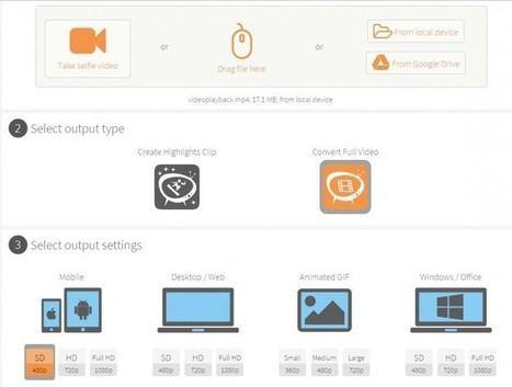 clipchamp, para reducir el tamaño de los vídeos... | Education & ICT | Scoop.it