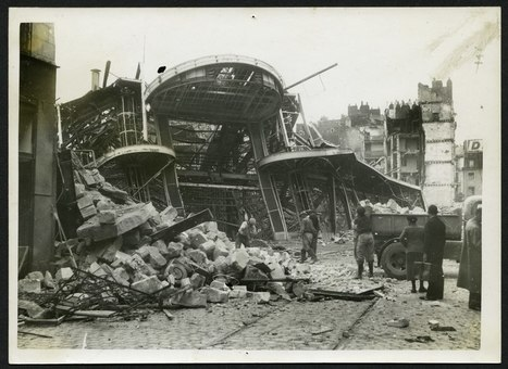 Mémoire des bombardements de septembre 1943 aux Archives municipales- [Archives municipales de Nantes] | Histoire 2 guerres | Scoop.it