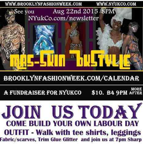 @Bkfashionweek Mas-Skin BKstyle a Pre-labor Day  DIY  costuming event for the Parade route. | Brooklyn By Design | Scoop.it