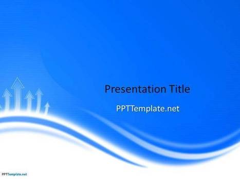 Free Blue PPT Template | Business PPT Templates | Scoop.it