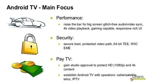 Android TV Overview – Linaro Connect US 2014   Embedded Systems News   Scoop.it