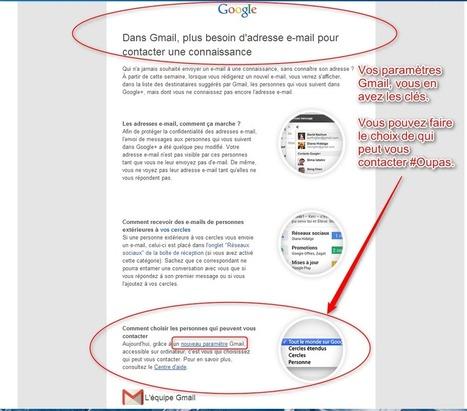 Comment changer les nouvelles propriétés Google Gmail pour éviter de recevoir des mails SPAMs ? | PACTechConsult | Médias sociaux et veille | Scoop.it