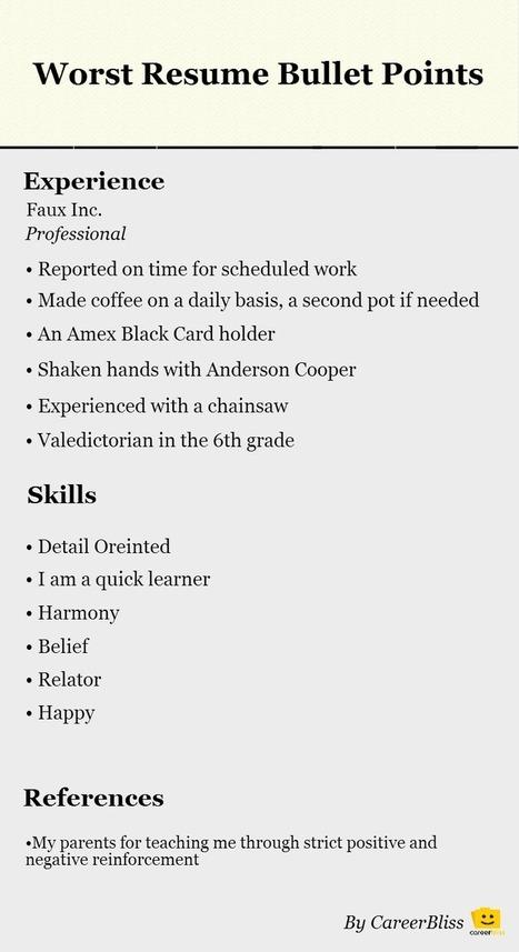 resume tips in effective resumes scoop it