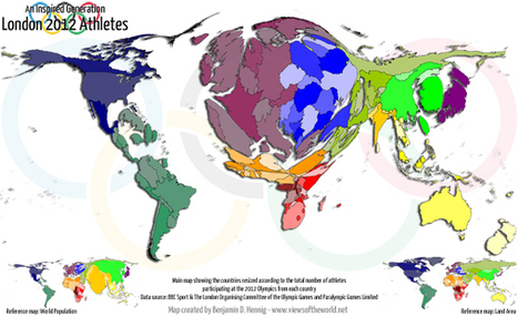 An inspired generation: London 2012 athletes   Views of the World   Cassetta Geography   Scoop.it
