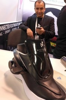 Une start-up française a conçu une chaussure qui… s'attache automatiquement | L'actualité de la filière cuir | Scoop.it