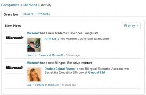 Filtering LinkedIn Company Activity Intelligence | All About LinkedIn | Scoop.it