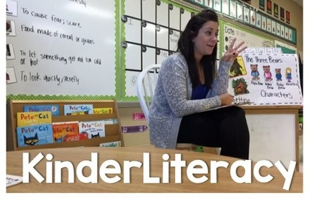 KinderLiteracy in ACTION! - Little Minds at Work | Cool School Ideas | Scoop.it
