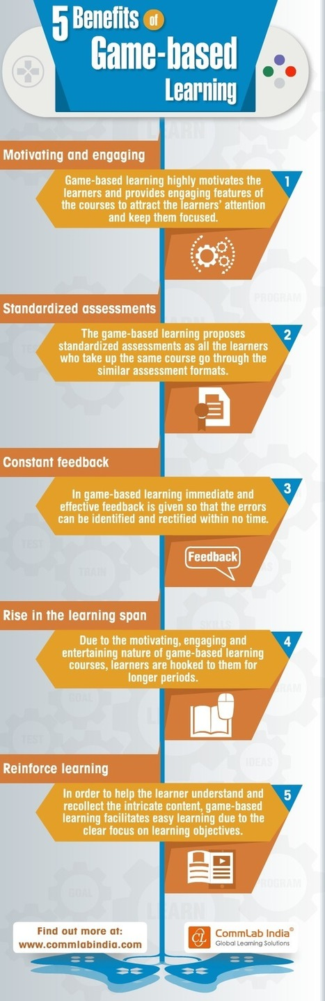 5 Benefits of Game Based Learning [Infographic] | Améliorons le elearning | Scoop.it