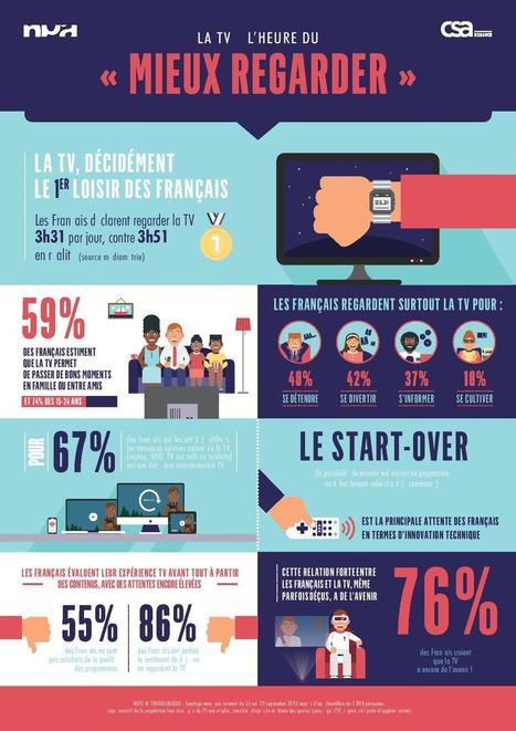 35% des Français regardent de moins en moins la TV au profit de la TV de rattrapage | Contenus vidéo sur internet : de la puissance à l'exigence | Scoop.it