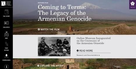 Clic France / Un musée virtuel du Génocide arménien accompagne la célébration du centenaire de cet événement historique | Clic France | Scoop.it