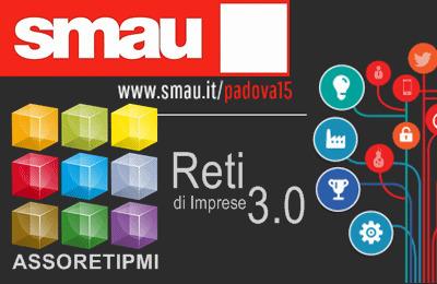 Riparte da Padova il nuovo TOUR 2015 di SMAU con Assoretipmi, 1-2 Aprile 2015 - Invito Vip gratuito. | Reti di impresa, start-up, web-marketing ed internazionalizzazione | Scoop.it