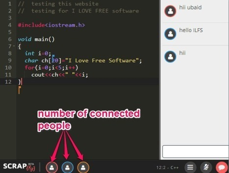 Collaborative Code Editor To Code Together In Real-Time | Time to Learn | Scoop.it