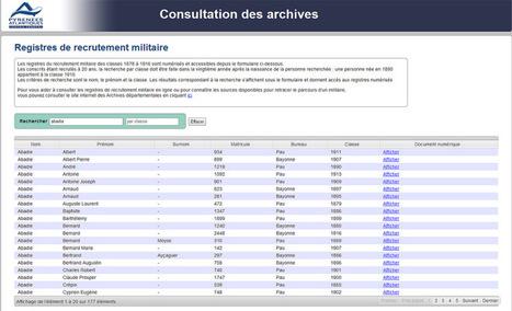 Pyrénées-Atlantiques | Du nouveau aux Archives départementales | Nos Racines | Scoop.it