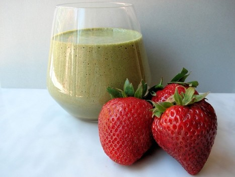 Anti Aging Strawberry Smoothie | Flemingbarter's Bookmarks | Scoop.it