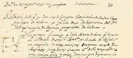 Descubierto un  manuscrito inédito de Góngora acusando a un inquisidor | L'Antoxana de Babí | Scoop.it