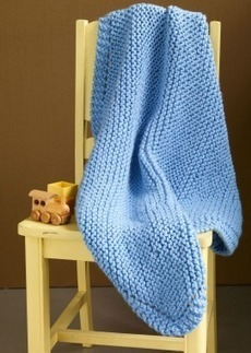 Very Easy Baby Blanket Knitting Pattern | Baby Knitting Patterns Blog | Crafts & DIY | Scoop.it