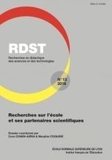 RDST - Recherches en didactique des sciences et des technologies n°13 | Les revues de la médiathèque | Scoop.it