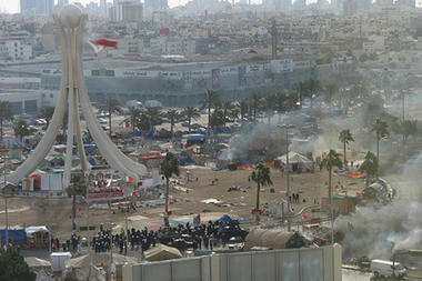 Bahrain expels protesters from Pearl Roundabout | Coveting Freedom | Scoop.it