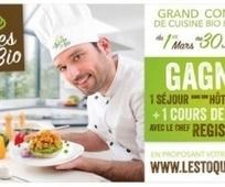 Cuisine bio végétarienne : participez au concours Les Toques Bio 2016 !   Le cri de la courgette... Cuisine biologique   Scoop.it