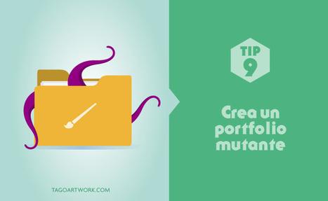 Consejos y herramientas para crear un portfolio perfecto - 40deFiebre | Portafolios digitales | Scoop.it