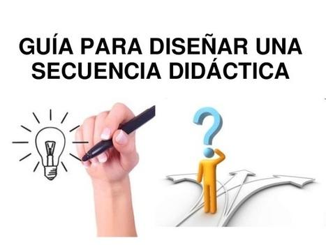 Guia para diseñar mi secuencia didáctica | Recursos TIC para la enseñanza y el aprendizaje | Scoop.it