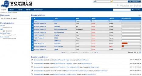Vermis, un gestionnaire de projets et bugtracker open source | Websourcing.fr | Time to Learn | Scoop.it