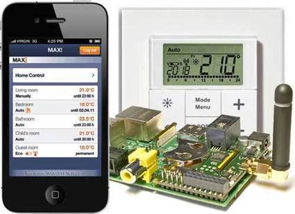 eQ-3 MAX! Affordable Wireless Heating Control with your Smartphone or Raspberry Pi | Automated Home | Big Data - let your data grow | Scoop.it