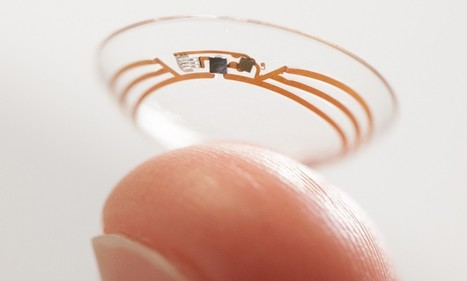 Google patents smart contact lens system with a CAMERA built in | Mobile Health: How Mobile Phones Support Health Care | Scoop.it