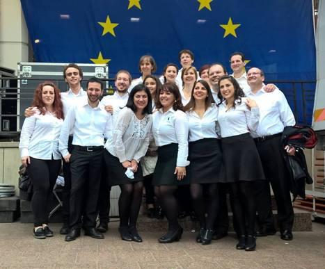 Τι κάνουν οι απόφοιτοί μας σήμερα; Ανδρέας Κωστάκης : Fête de l'Europe au cœur de la ville de Luxembourg | TA NEA TOY LFH | Scoop.it