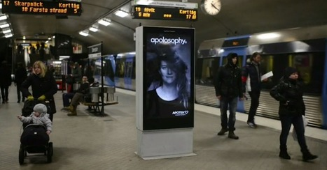Hair-Raising Subway Ad Blows Away the Competition | Raspberry Pi Hacks | Scoop.it
