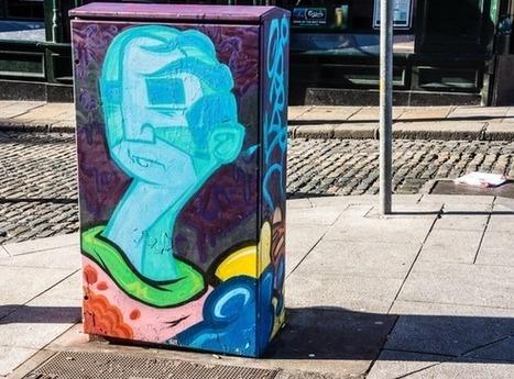 Dublin Street Art power box piece   Street Art   Scoop.it