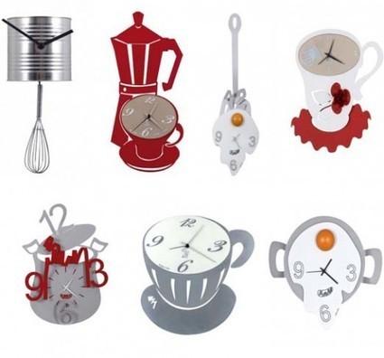 Relojes de cocina originales divertidos decor for Accesorios decorativos para cocina