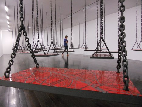 "Mona Hatoum: ""Suspended"" 