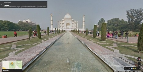 You can now explore the Taj Mahal and other Indian monuments through Google Street View - TNW | tech learning | Scoop.it