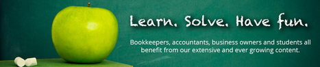 home of schoolofbookkeeping.com - Bookkeeping courses, learning and training   Happen' Happenings   Scoop.it
