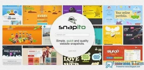 Snapito : un outil en ligne pour capturer des pages web et les envoyer sur Pinterest | Geeks | Scoop.it