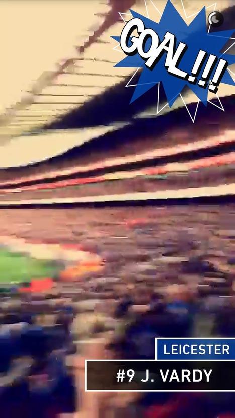 Les clubs de Football à suivre sur Snapchat - Influenth   Social media 2.0   Scoop.it