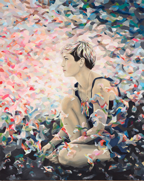 Archibald Prize Archibald 2012 finalist: Melody (you're the only one who saves me) – portrait of Missy Higgins by Kate Tucker | Art | Scoop.it