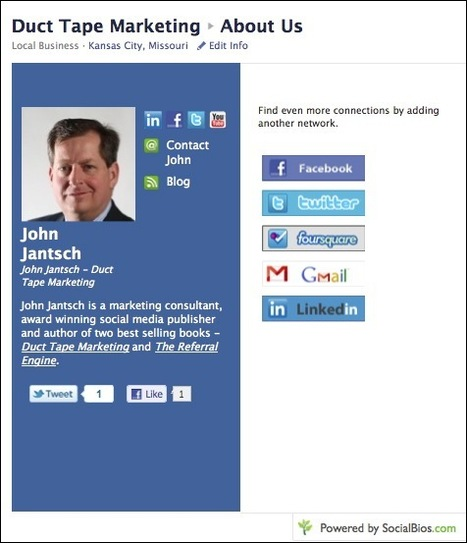 Where Is The Facebook About Us Page?   MarketingHits   Scoop.it