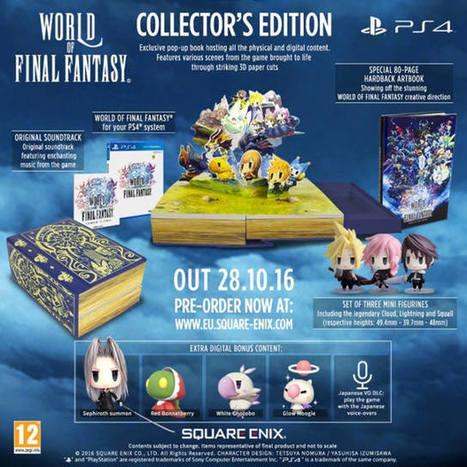 World of Final Fantasy: Square Enix anuncia edición para coleccionistas   Descargas Juegos y Peliculas   Scoop.it