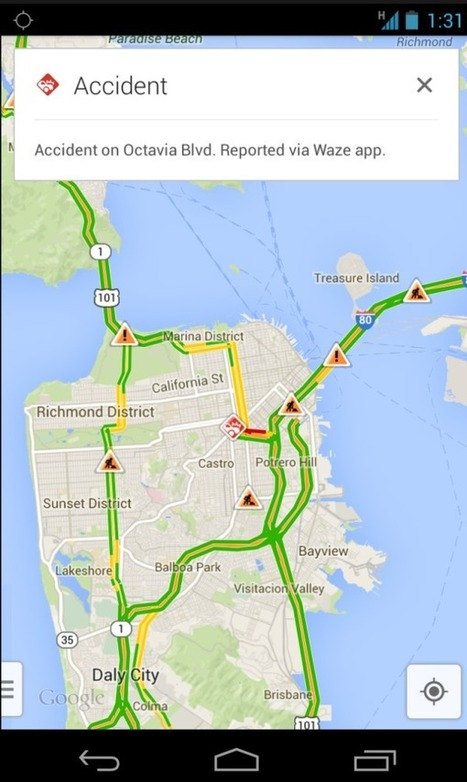 Google Adds Waze Traffic To Maps App, Search To Waze | Local Social Mobile Marketing | Scoop.it