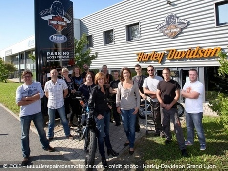 Harley-Davidson Grand Lyon fête ses 10 ans | art contemporain et culture | Scoop.it