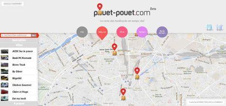 Pouet Pouet, la carte interactive des FoodTrucks | Food Truck et cuisine de rue | Scoop.it