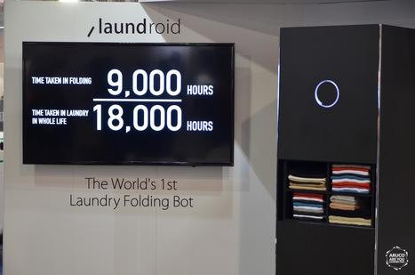 Laundroid, ce robot plie et trie vos vêtements tout seul - Aruco | Hightech, domotique, robotique et objets connectés sur le Net | Scoop.it